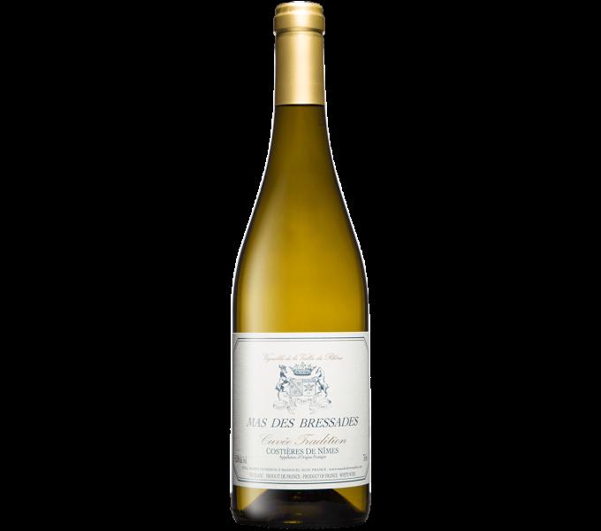 Mas des Bressades, Cuvée Tradition Blanc, AOP Costières de Nîmes 2019