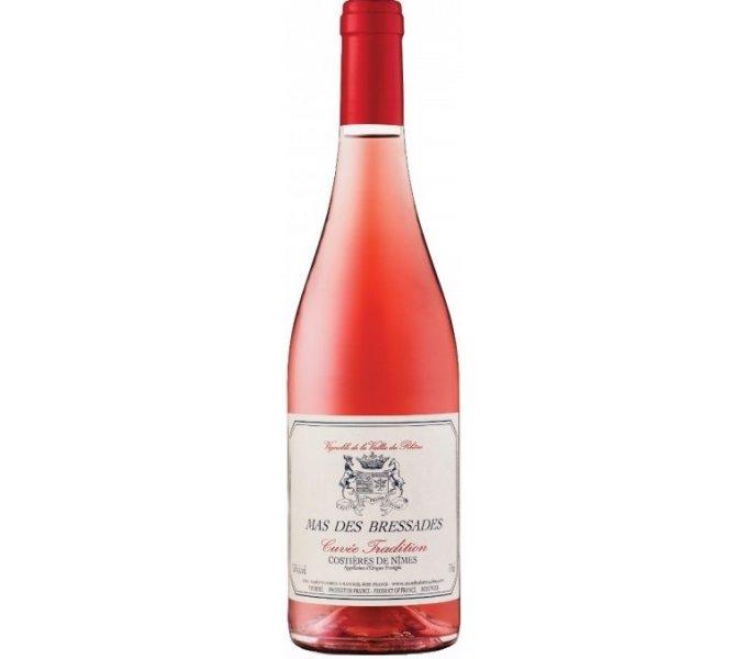 Mas des Bressades, Cuvée Tradition Rosé, AOP Costières de Nîmes 2019